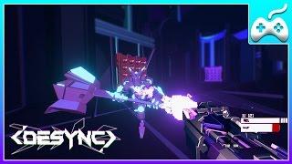 DESYNC - Новый яркий инди шутер. Обзор игры.