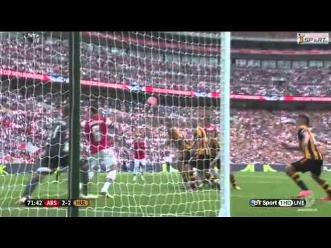 Arsenal - Hull City FA Cup 2014 Final Highlights