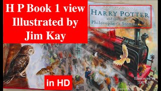 Harry Potter Book 1 Illustrated By Jim Kay - The Philosophers Stone / The Sorcerers Stone