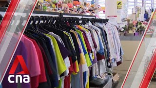 Some charity thrift stores in Singapore throwing out as much as 80% of donations