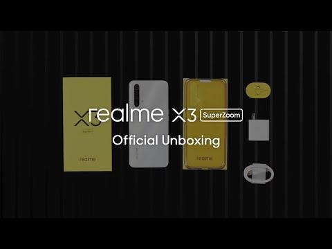 "realme X3 SuperZoom (256GB, Arctic White, 6.57"", Dual SIM, 64Mpx, 4G)"