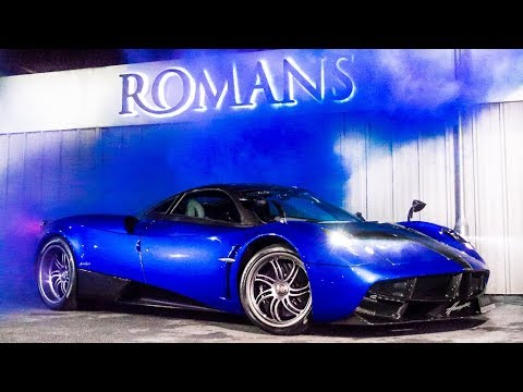 2016 Pagani Huayra For Sale At Romans International
