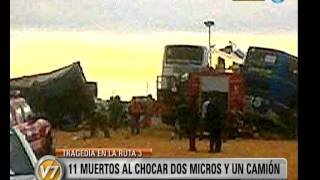 Visión Siete Chubut Tragedia En La Ruta 3