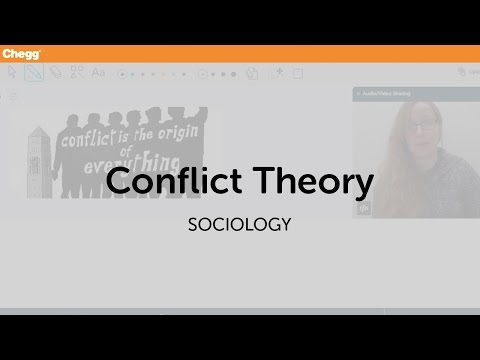 Definition of Conflict Theory | Chegg.com