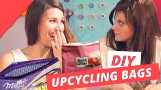 Upcycling Milka & Rittersport Tasche  | DIY or DI-Don't w/ Holy Chic