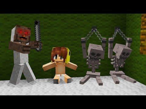 KORKUNÇ BÜYÜKANNE KIZIMI KAÇIRDI! ???? - Minecraft