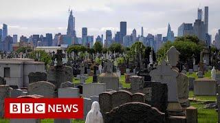 Coronavirus deaths in US top 100,000 - BBC News