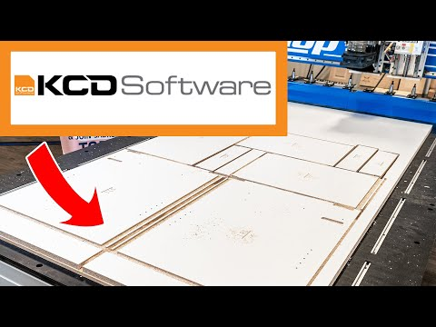 ShopSabre CNC Router Technology + KCD Software + Cehisa Edge Bander = Production Cabinetry Shopvideo thumb