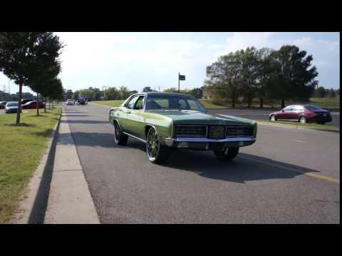 Ford LTD on Forgiato Wheels at Stuntmania 2k16