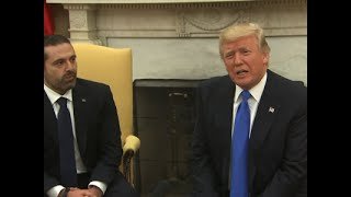 Trump Welcomes Lebanese Prime Minister to WH