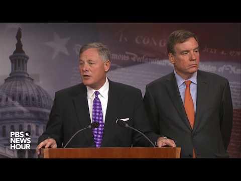 WATCH: Sens. Burr, Warner hold news briefing to update Russia investigation