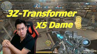 Hết Hồn Với 3Z-Transformer X5 Dame Sẽ Như Thế Nào ? - Tiền Zombie v4
