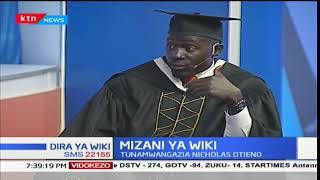 Bawabu Nicholas Otieno afuzu kutoka chuo kikuu cha Kenyatta: Mizani ya wiki