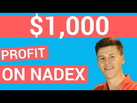 How I Doubled My Money Trading Nadex Today ($1,000) Profit 💯