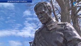 На воинском захоронении в деревне Исаково открылся памятник Советскому солдату