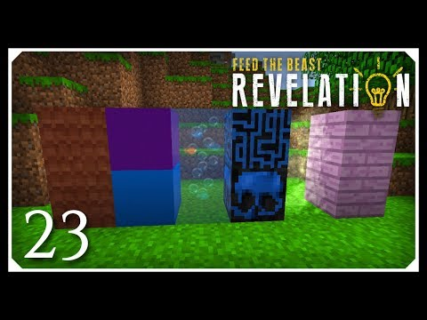 How To Play FTB Revelation | Dye mixer, XTones & Nice Mod! | E23 Modded Minecraft For Beginners