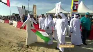 preview picture of video 'Day 1 - Abu Dhabi Desert Challenge 2014'