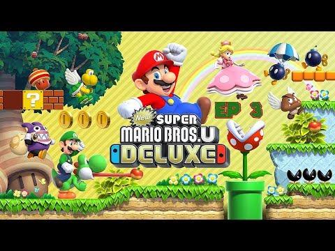 New Super Mario Bros U Deluxe Walkthrough By Voltage Game Video