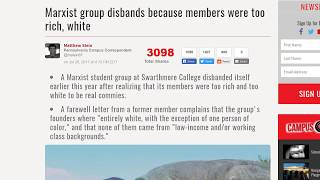 Marxist Group Disbands for being Bourgeois