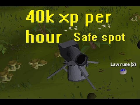 Best cannon spot for low hp pures (osrs) no requirements(2017)