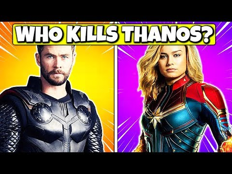 Avengers: Endgame Quiz (True Marvel Fans Will Pass)