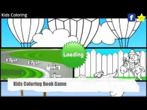 Video of Kids Coloring Book Game FREE