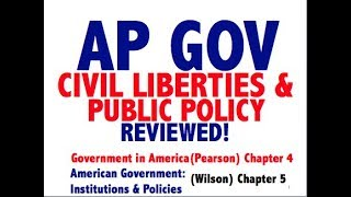 AP GOV Explained: Government in America Chapter 4