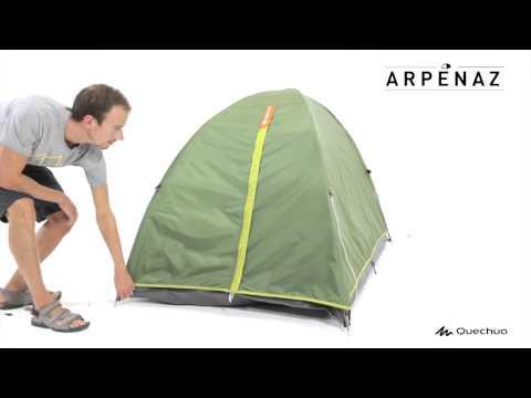 Arpenaz 2 Tent 2 people - Green