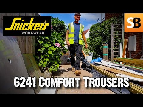 Snickers Workwear 6241 Stretch Trousers with Holster Pockets