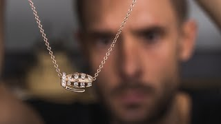 How The Grenade Diamond And Gold Necklace Is Made