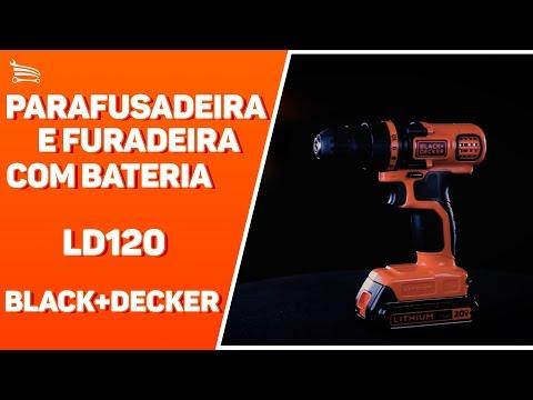 Parafusadeira/Furadeira com Bateria 20V 1,5Ah Lítion, Carregador Bivolt, Maleta e 45 Acessórios - Video