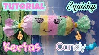 Tutorial Membuat Kertas Squishy Candy || INDONESIA❤