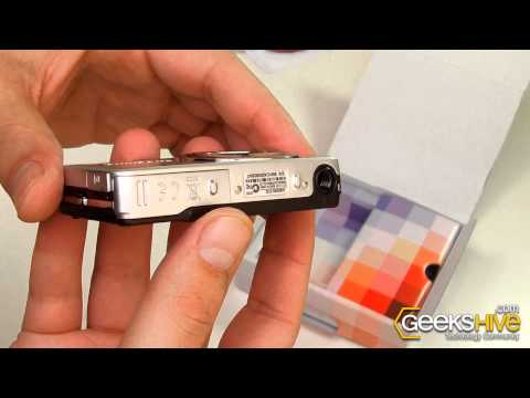 Samsung ST30 Compact Camera - Unboxing by www.geekshive.com