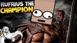 "Gladiator School Gameplay - ""RUFRIUS THE CHAMPION!!!"" Walkthrough Let"