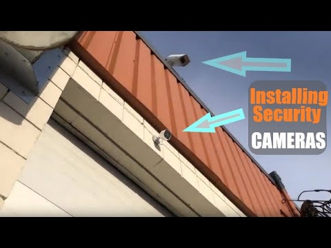 Installing Security Cameras At The Office - Protecting My Investment - Growing Event Rental Business