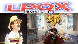 Luciano Rossi - Look for Sympathy  (Lip Sync Video) (LPQX) (no music)