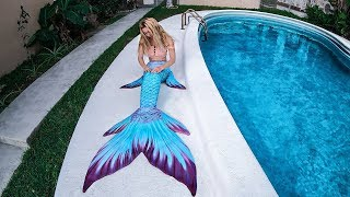 Unboxing GORGEOUS Mermaid Tail   Finfolk Productions CASPIAN COVE Review