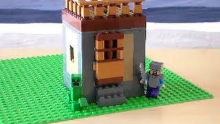 how to make a lego minecraft villager house - मुफ्त