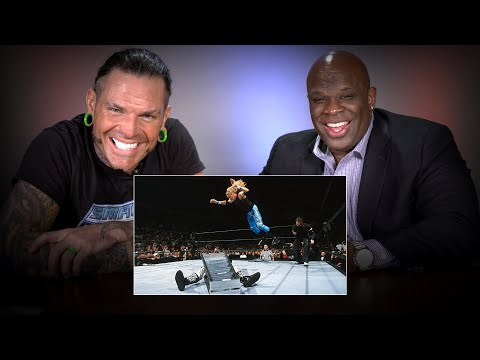Download Jeff Hardy & D-Von Dudley rewatch their classic TLC Match: WWE Playback HD Mp4 3GP Video and MP3