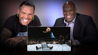 Jeff Hardy & D-Von Dudley rewatch their classic TLC Match: WWE Playback