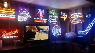 Man Cave Neon Beer Sign Collection