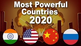 Top 20 Most Powerful Countries 2020