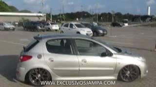 Peugeot 207 Com Suspensao A Ar Aro 17  , Muito Top