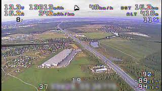 30.5-61km Quadcopter FPV Flight - World Distance Record (Рекорд дальности полета на квадрокоптере)