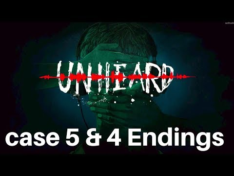 Unheard - Fifth Case & 4 Endings Mental Hospital Gameplay Walkthrough