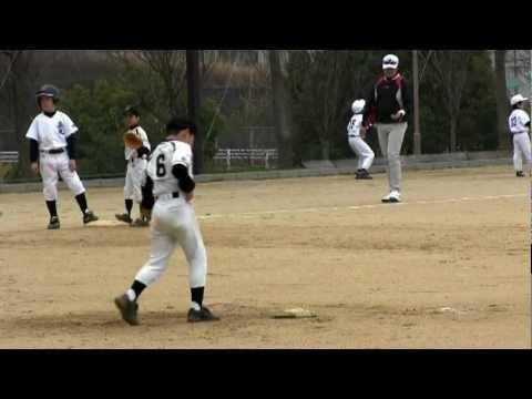 天翔(てんと)小2 高丸小学校戦 2012/03/18 2イニング