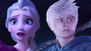 JACK FROST REACTS to FROZEN II TRAILER (#2) -Reaction & Analysis-