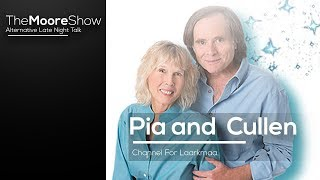 Pia and Cullen Channel for Laarkmaa    Video Interview on The Moore Show