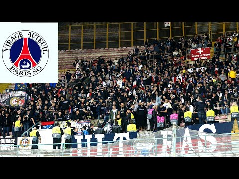 NAPOLI VS PSG - AMBIANCE DU CUP - ULTRA PSG \