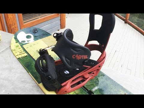 Pros and Cons of my Snowboard Bindings – Burton Cartel EST